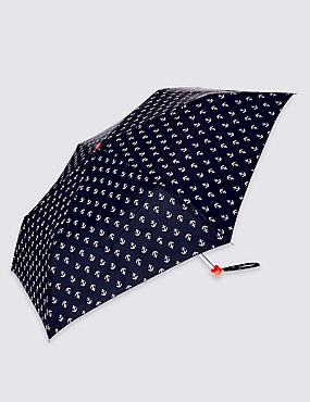 Anchors Umbrella with Stormwear™, NAVY MIX, catlanding