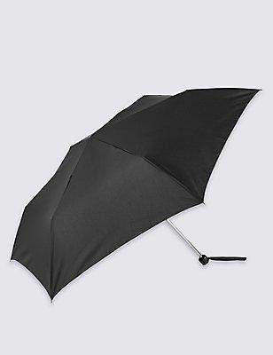Compact Umbrella, BLACK, catlanding