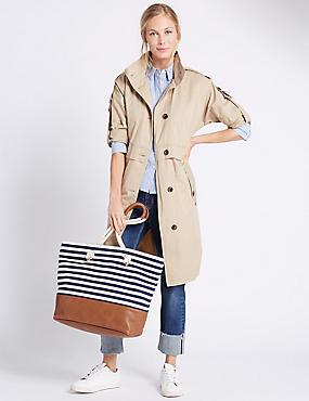 Nautical Shopper Bag, , catlanding