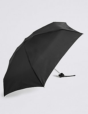 Sheen Compact Umbrella with FLEXIRIB™, BLACK, catlanding