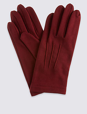 Jersey Gloves, BURGUNDY, catlanding