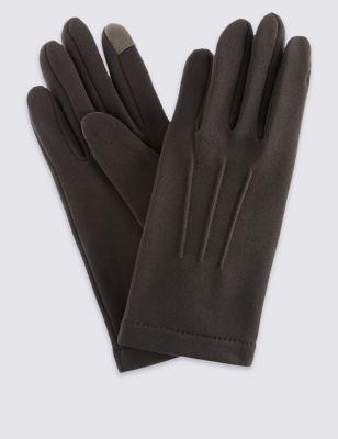 Трикотажные перчатки с функцией тачскрин