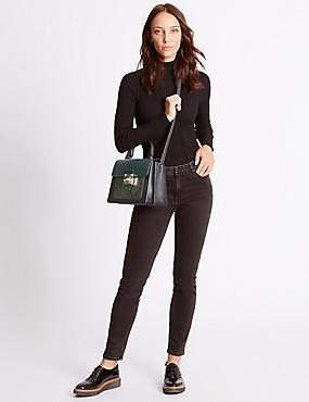 Top Handle Tote Bag, , catlanding