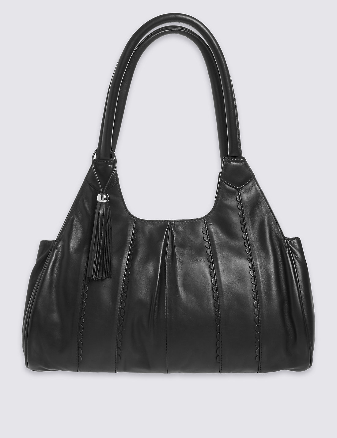 White apron marks and spencer - Pure Leather Apron Shoulder Bag