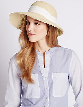 Oversized Cloche Hat