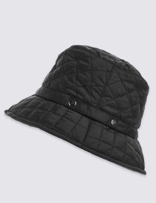 Стёганая шляпа Stormwear™ с заклёпками M&S Collection T014084F