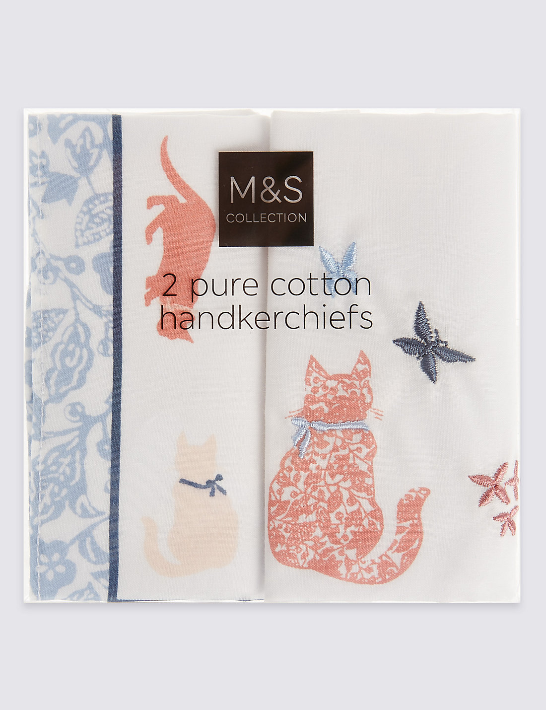 2 pack pure cotton animal print handkerchiefs ms 2 pack pure cotton animal print handkerchiefs kristyandbryce Image collections