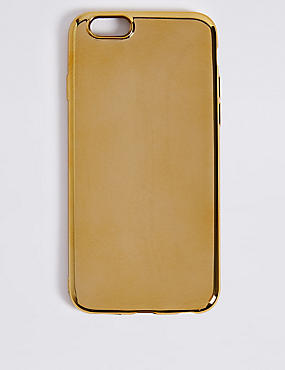 iPhone 6/6S Metallic Phone Case, GOLD, catlanding