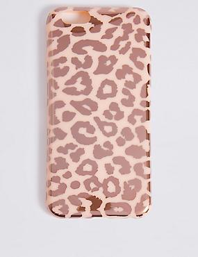 iPhone 6/6S Animal Print Phone Case, PINK, catlanding