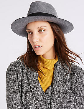 Pure Wool Winter Hat with Thinsulate™, GREY, catlanding