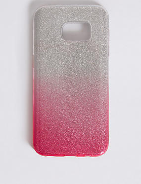 Samsung S7® Glitter Phone Case, PINK, catlanding