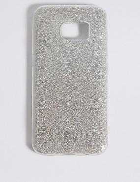 Samsung S7® Glitter Phone Case, SILVER, catlanding