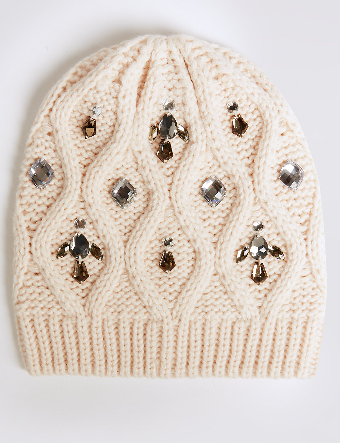 Jeweled Beanie Hat