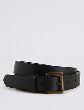 Leather Hip Belt, BLACK, catlanding
