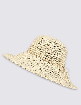 Chapeau de plage, NATUREL ASSORTI, catlanding