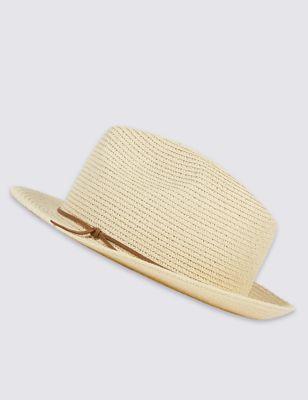 Шляпа трилби с тоненьким шнурком от Marks & Spencer