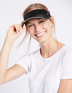 Active Visor Headband, BLACK, catlanding