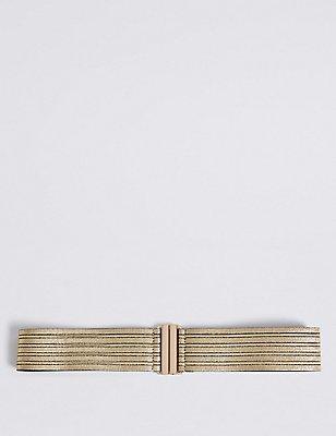 Metallic Waist Belt, GOLD MIX, catlanding