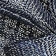 Sequin Disc Fascinator, NAVY, swatch
