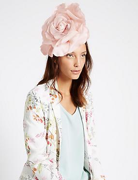 Bibi à motif fleuri tendance, ROSE CLAIR, catlanding