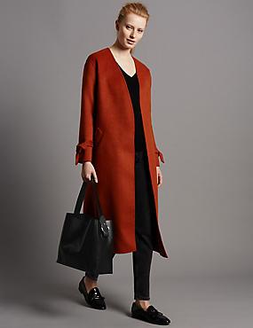 Leather Sofia Bucket Hobo Bag, BLACK MIX, catlanding