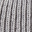 Pure Cashmere Bobble Winter Hat, GREY, swatch