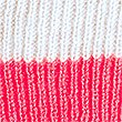 Pure Cashmere Colour Block Beanie Hat, OATMEAL MIX, swatch