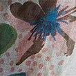 Floral Print Scarf, CREAM MIX, swatch