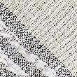 Cotton Rich Striped Tassel Scarf, NATURAL MIX, swatch