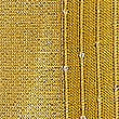 Sequin Striped Scarf, OCHRE, swatch