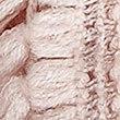 Textured Fringe Snood Scarf, PINK, swatch