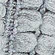 Textured Fringe Snood Scarf, GREY MIX, swatch