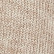 Faux Fur Knitted Wrap, NATURAL MIX, swatch