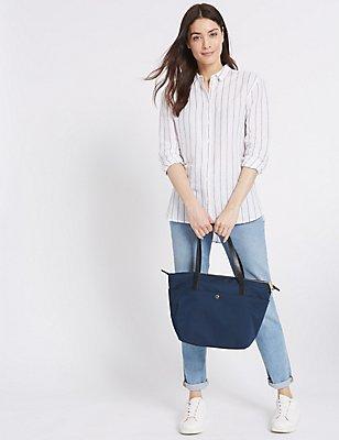 Popper Pocket Tote Bag with Stormwear™, , catlanding