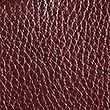 Leather Knot Detail Grab Tote Bag, BURGUNDY, swatch