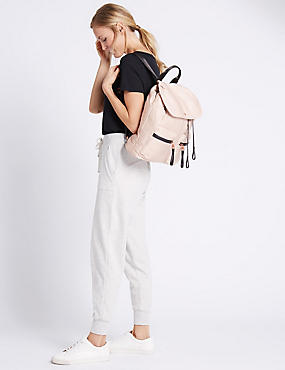 Sporty Rucksack Bag with Stormwear™, PINK MIX, catlanding