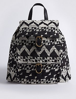Jacquard Backpack, , catlanding