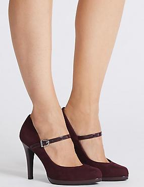Stiletto Heel Bar Court Shoes, OXBLOOD, catlanding
