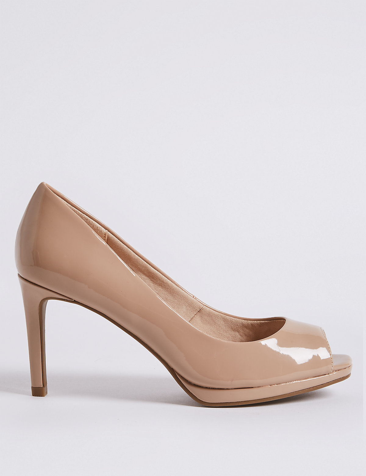 Туфли женские с открытым носком