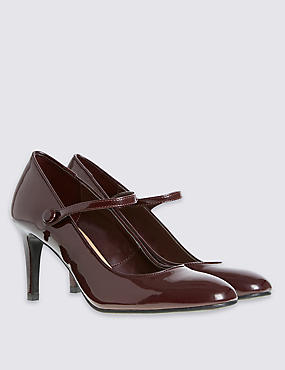 Dolly Patent Court Shoes with Insolia®, DAMSON, catlanding