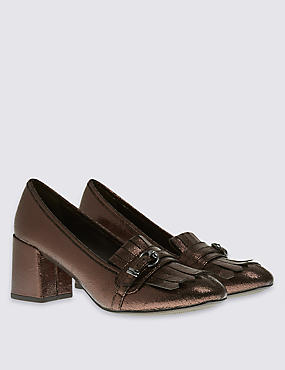 Fringe Loafer with Insolia®, GOLD, catlanding