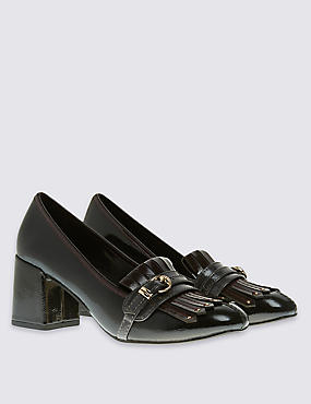 Fringe Loafer with Insolia®, BLACK MIX, catlanding