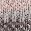 Fairisle Knit Slipper Boots, GREY MIX, swatch