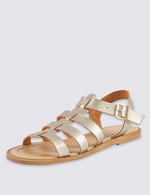 Fisherman Sandals, GOLD, catlanding