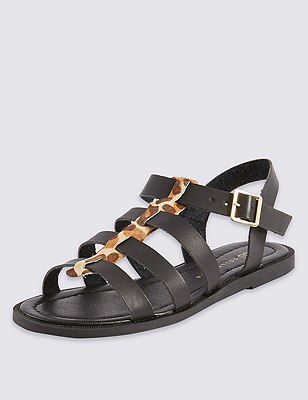 Fisherman Sandals, BLACK MIX, catlanding