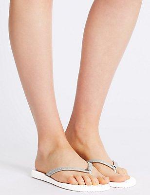 Bridal Flip Flops, NUDE MIX, catlanding
