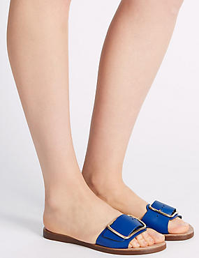 Sandales en cuir, COBALT, catlanding