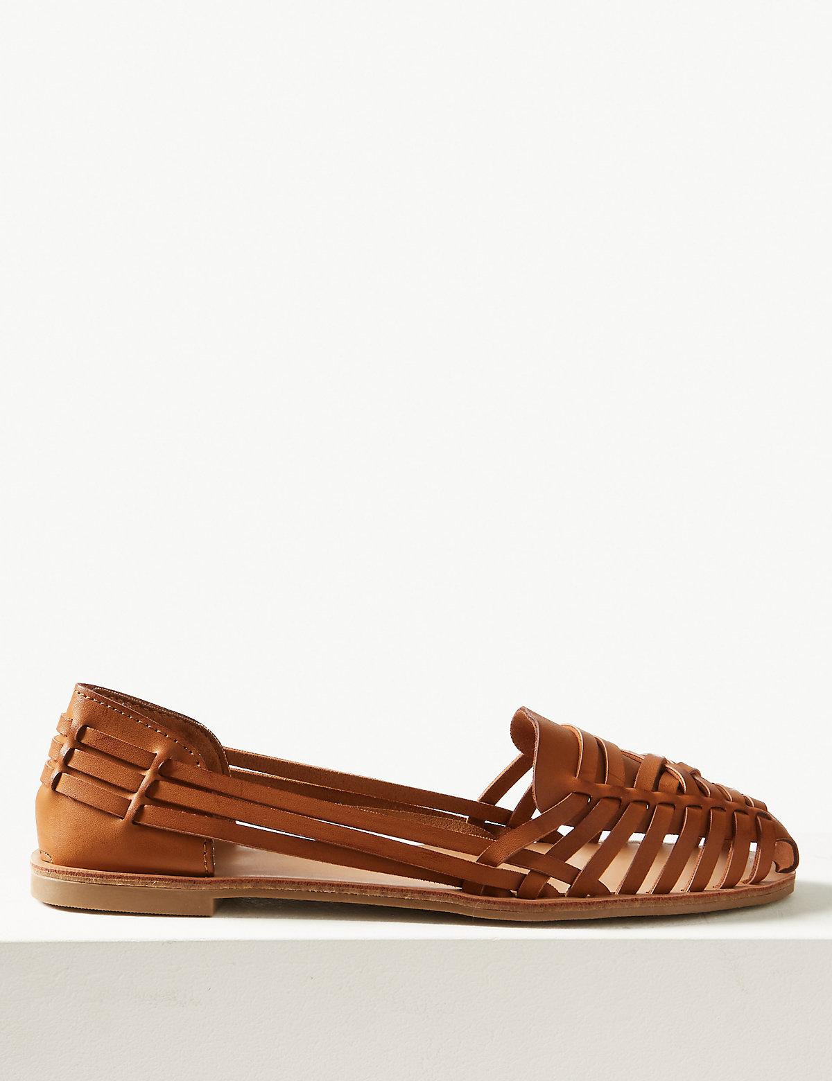 Плетенные туфли