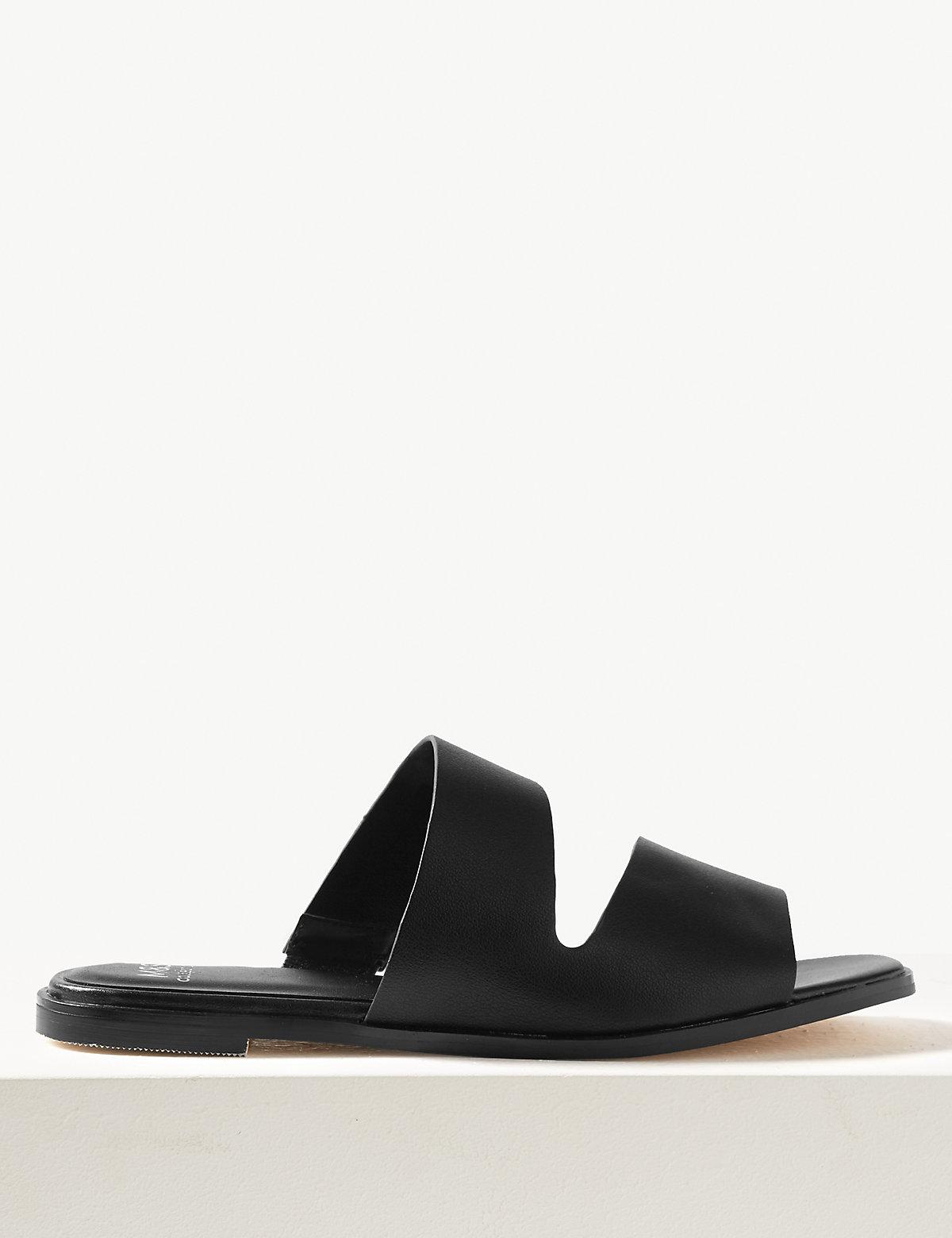Асимметричные сандалии мюли