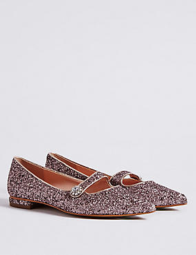 Pointed Pump Shoes, PINK, catlanding